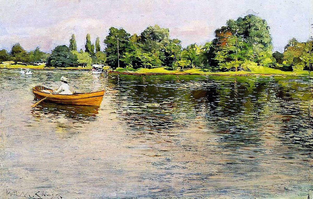 Summertime (Pulling for Shore) - William Merritt Chase