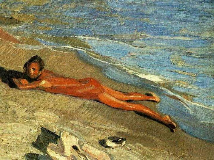 Sun bathing  - Nikolaos Lytras