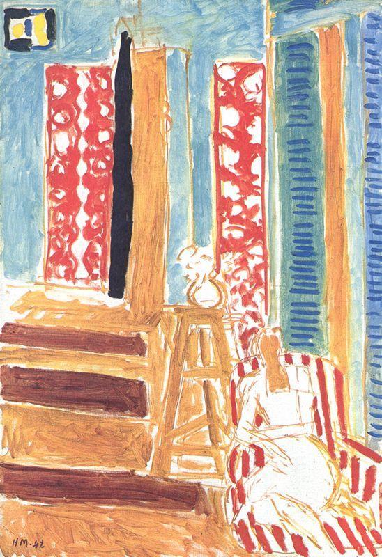 Sunlit Interior - Henri Matisse
