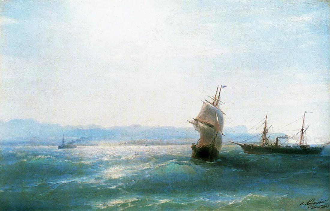 Sunny day - Ivan Aivazovsky