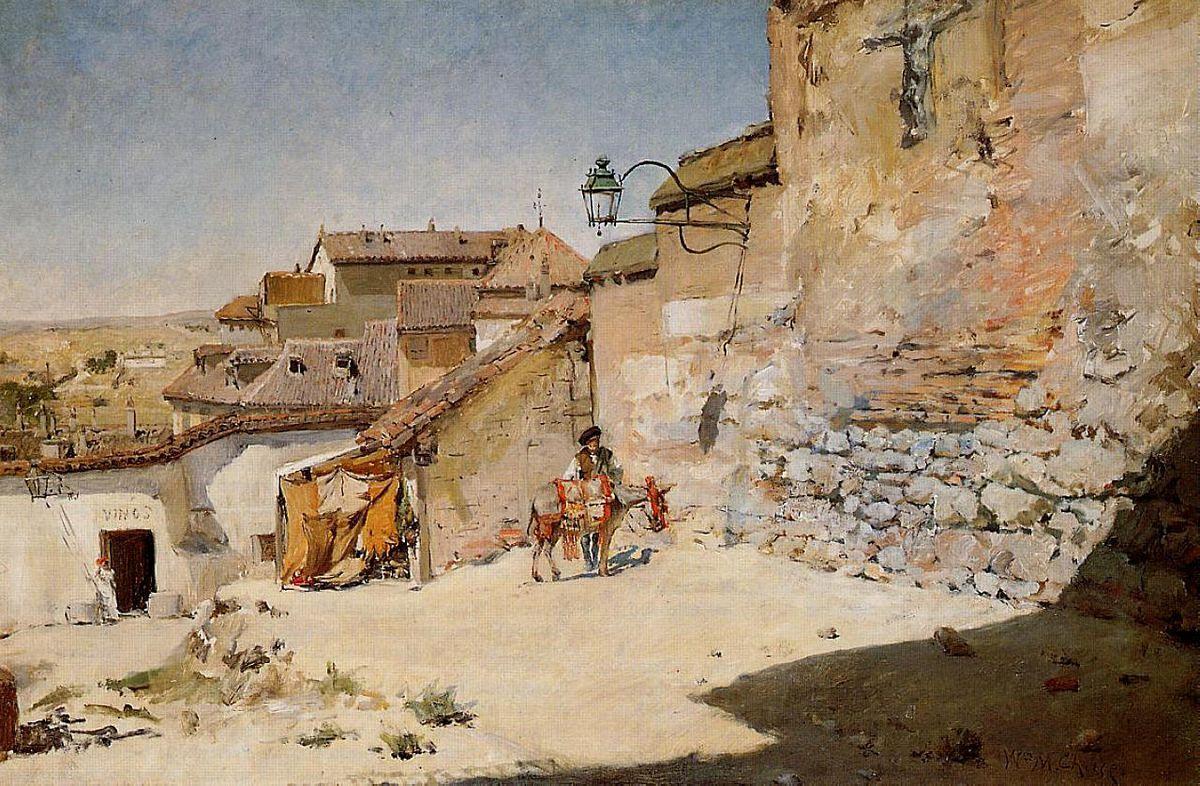 Sunny Spain - William Merritt Chase
