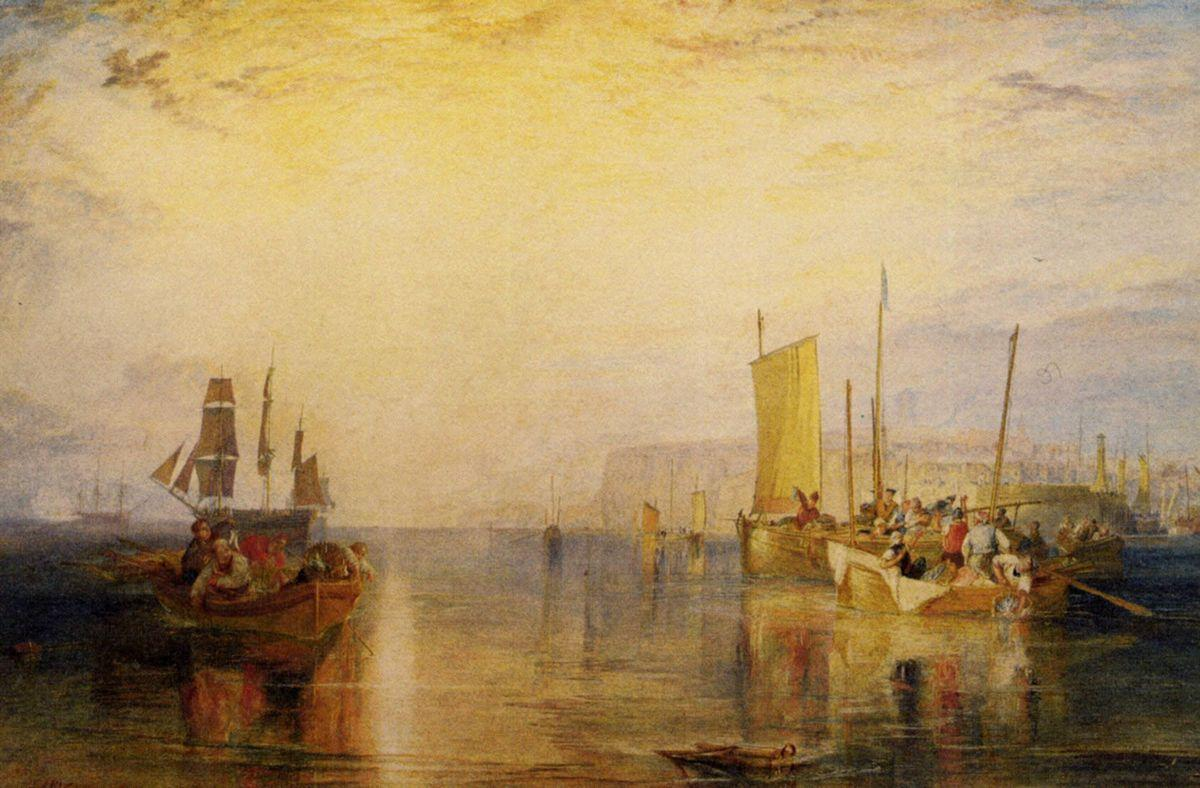 Sunrise, Whiting Fishing at Margate - William Turner