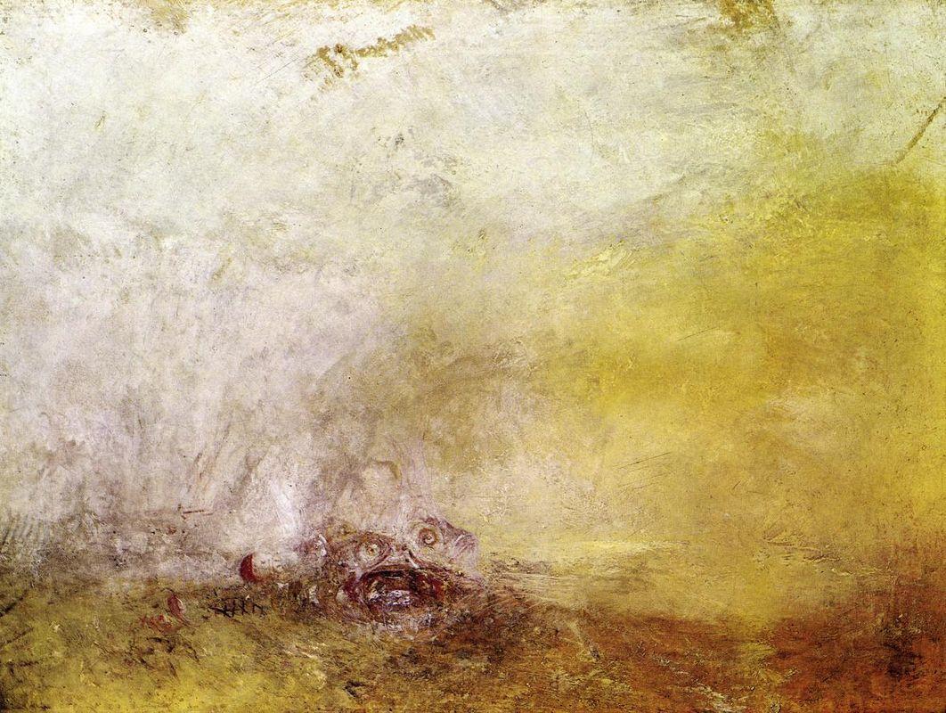 Sunrise with Sea Monsters - William Turner