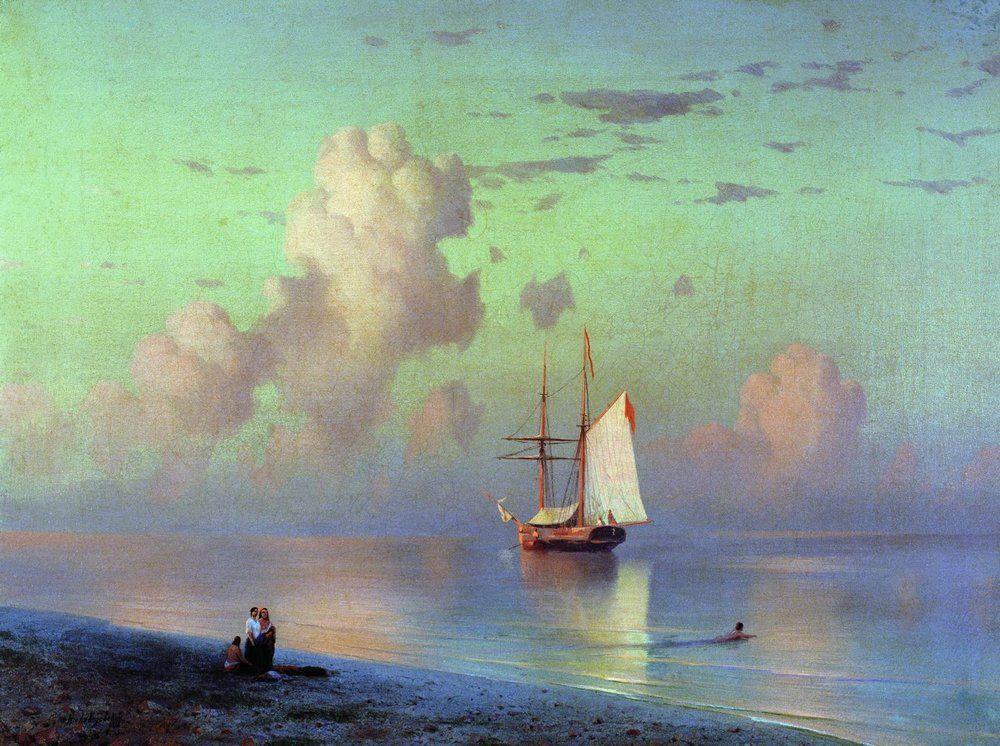 Sunset - Ivan Aivazovsky