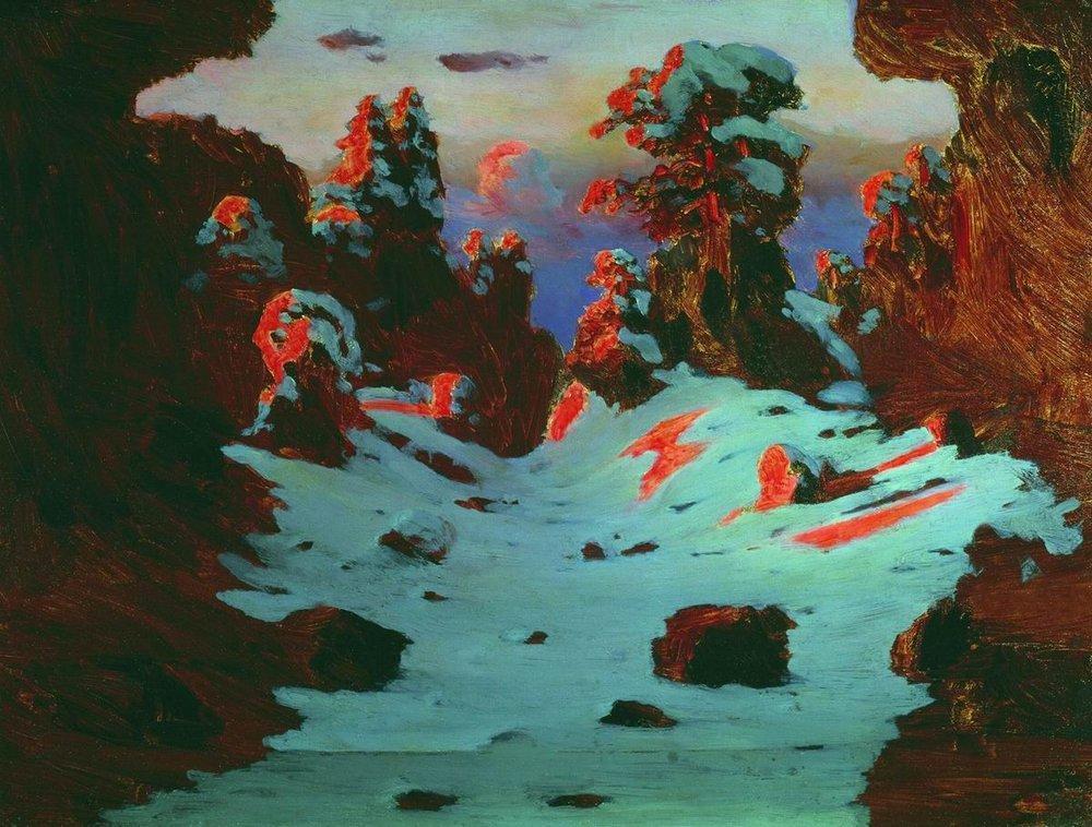 Sunset Effect - Arkhip Kuindzhi