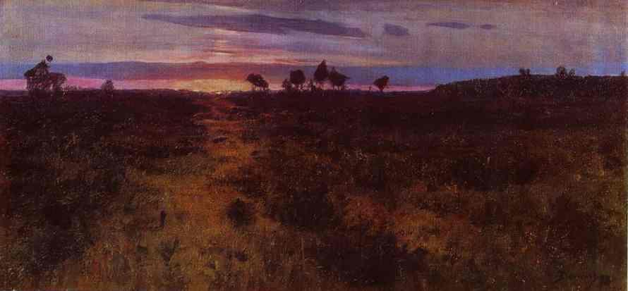 Sunset - Emil Nolde