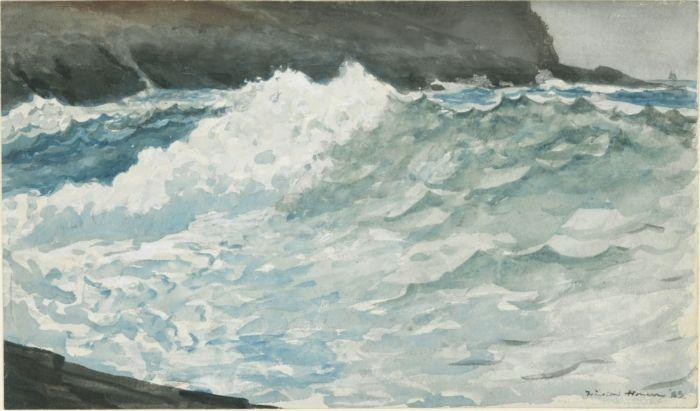 Surf, Prout's Neck - Winslow Homer