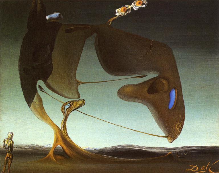Surrealist Architecture - Salvador Dali