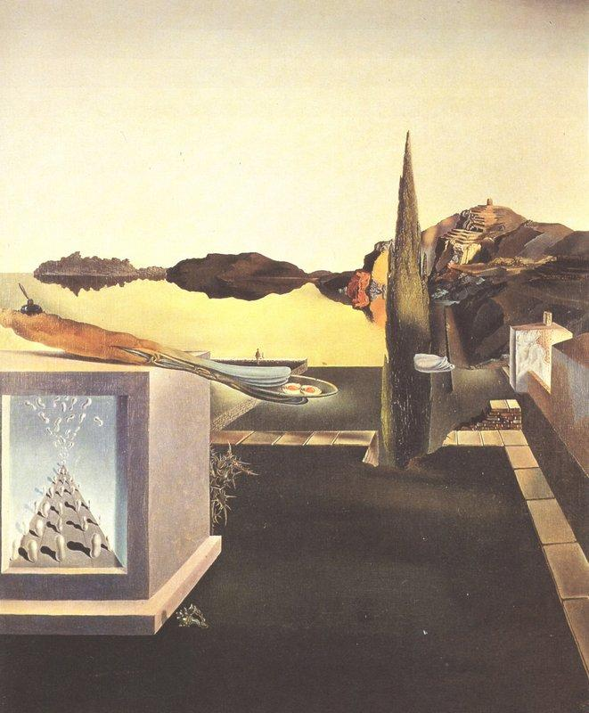 Surrealist Object Gauge of Instantaneous Memory - Salvador Dali