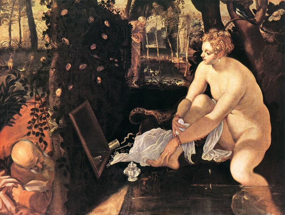 Susanna and the Elders - Annibale Carracci