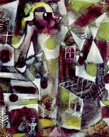Swamp legend - Paul Klee
