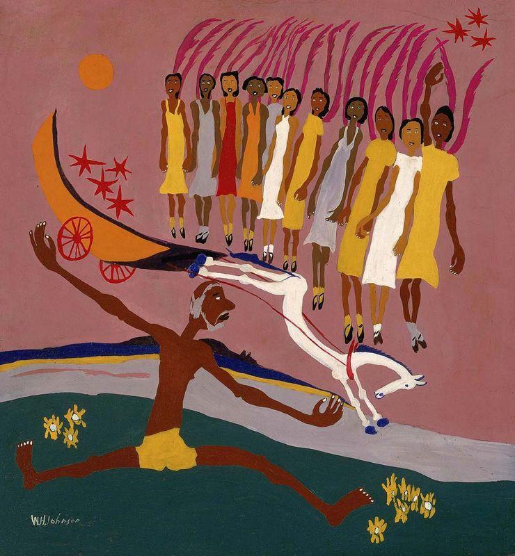 Swing Low, Sweet Chariot - William H. Johnson