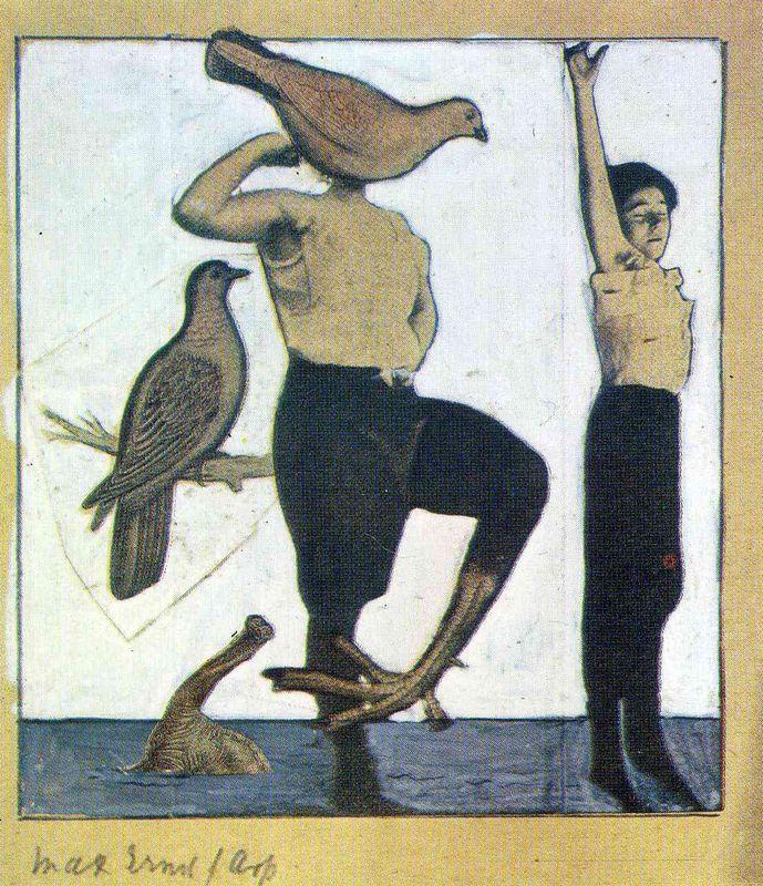 Switzerland, Birth-Place of Dada - Max Ernst