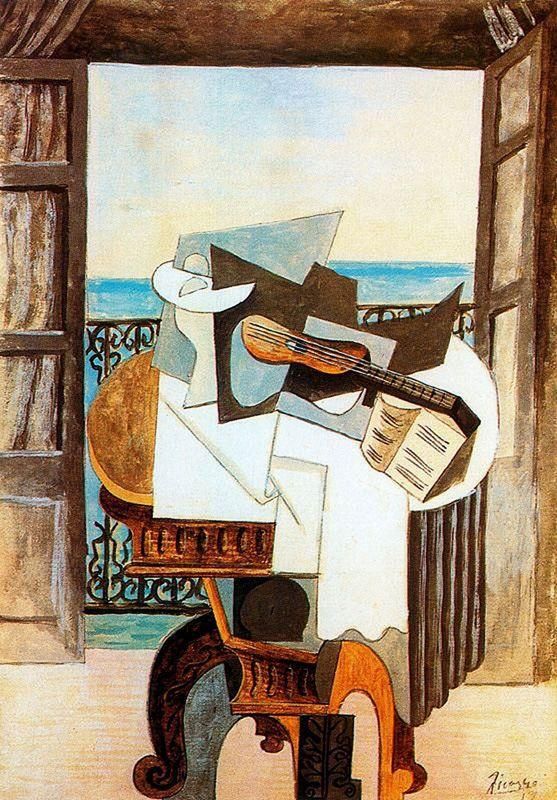 Table in front of window - Pablo Picasso