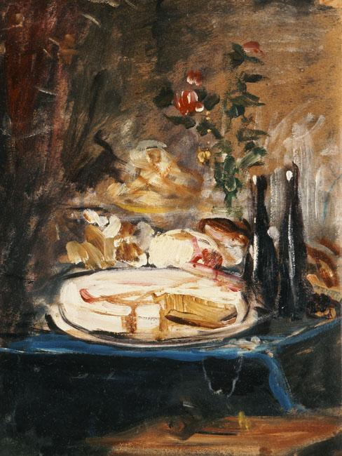 Table with cake - Nikolaos Gyzis