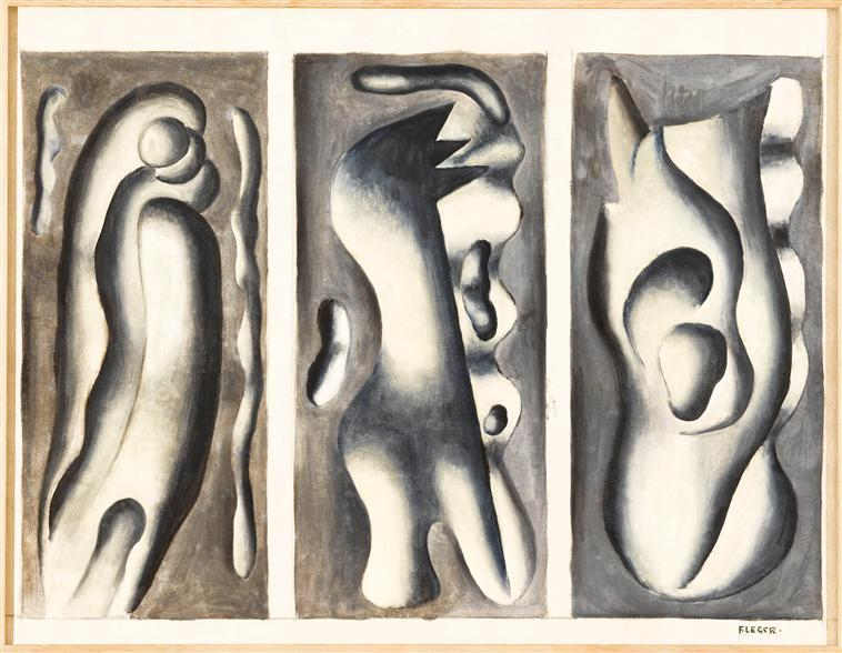 Tails of comets (study for a screen) - Fernand Leger