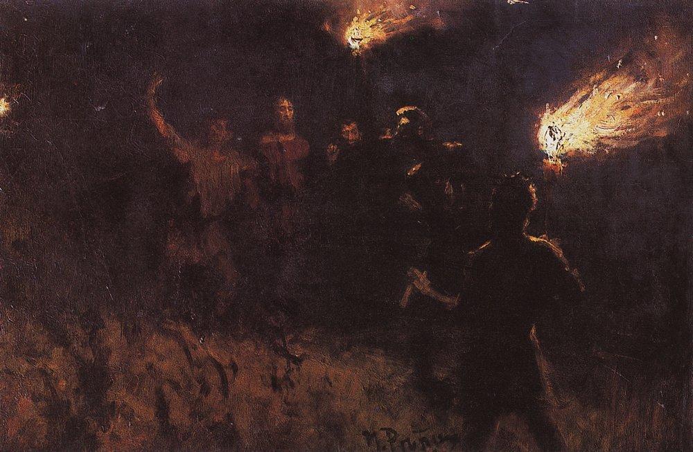 Taking Christ into custody - Ilya Repin