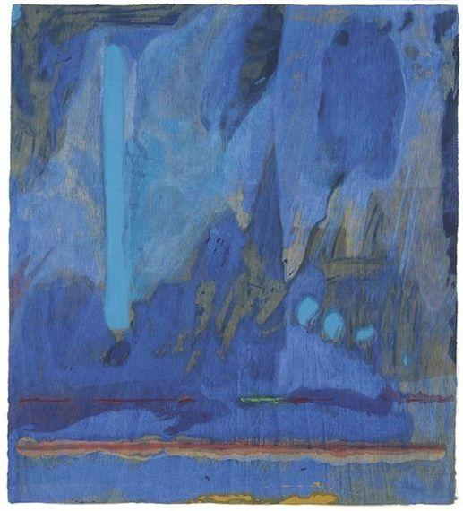 Tales of Genji III - Helen Frankenthaler