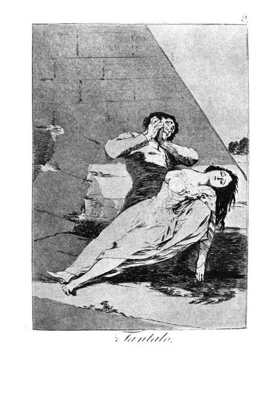 Tantalus - Francisco Goya