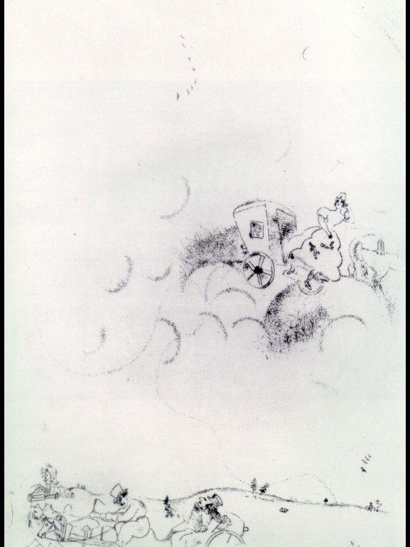Tchitchikov's dreams - Marc Chagall