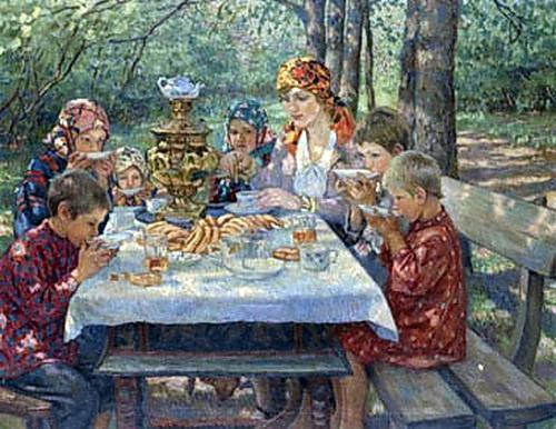 Teacher Visitors - Nikolay Bogdanov-Belsky