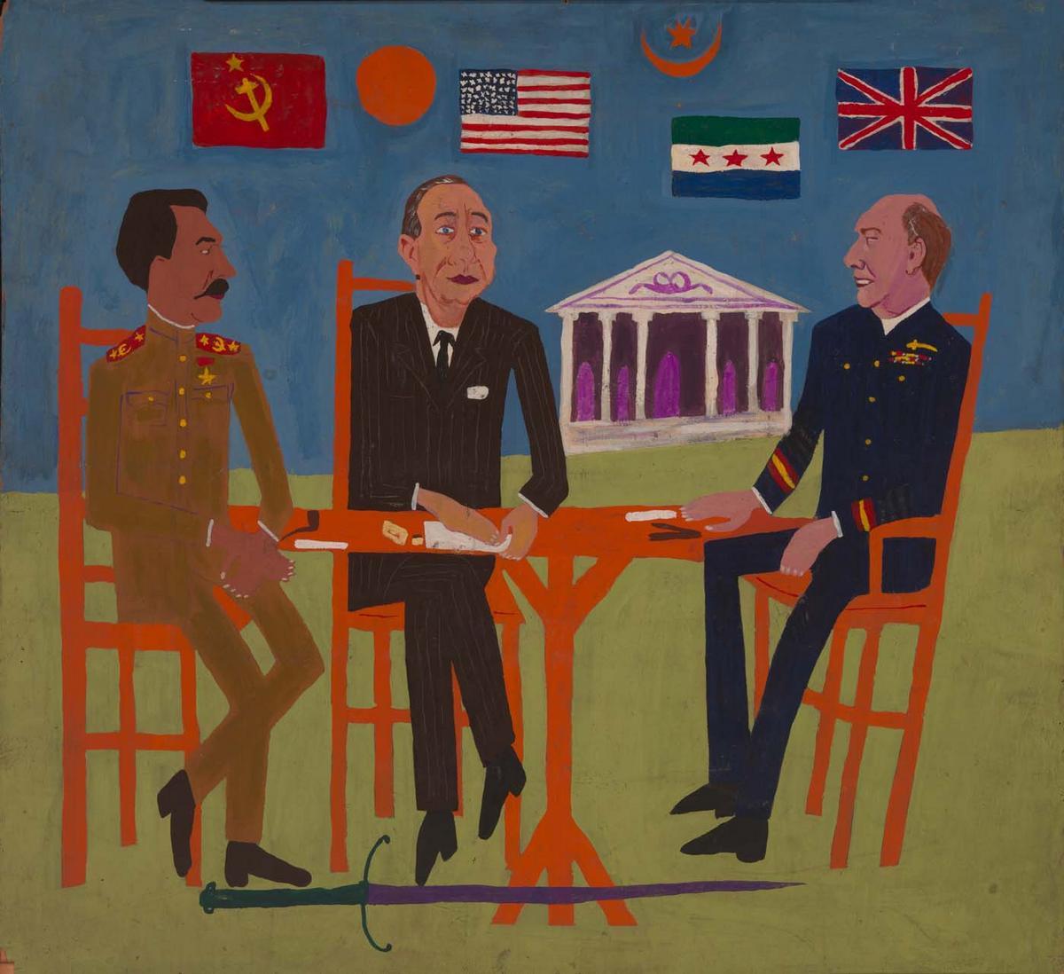 Teheran Conference - William H. Johnson