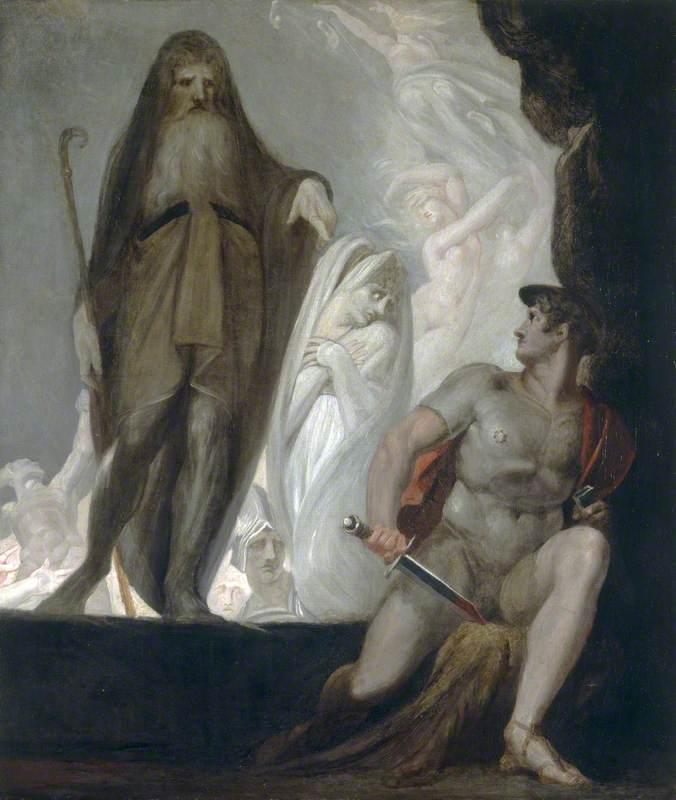 Teiresias Foretells the Future to Odysseus - Henry Fuseli