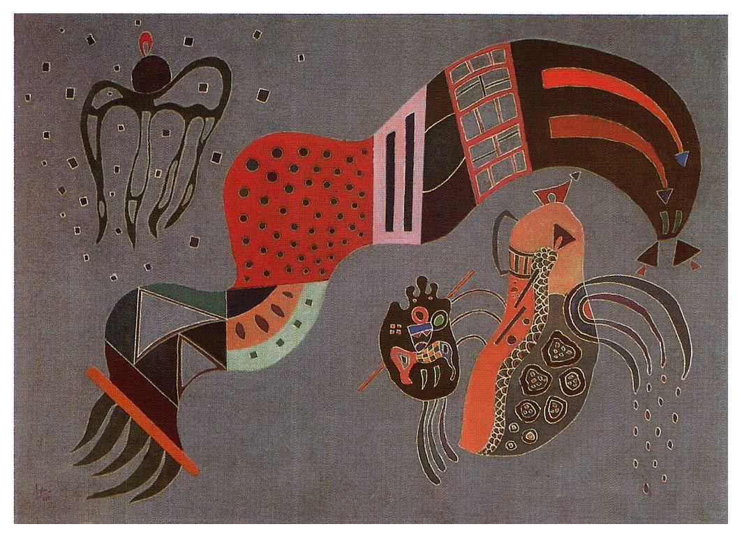 Tempered Elan -  Wassily Kandinsky