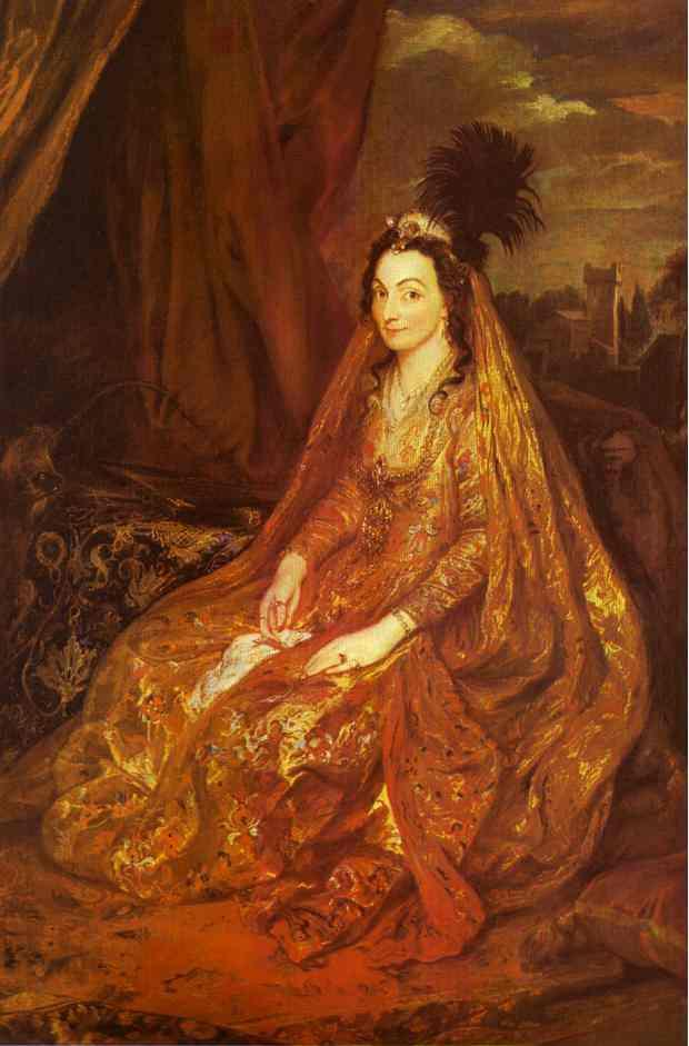 Teresia, Lady Shirley - Anthony van Dyck