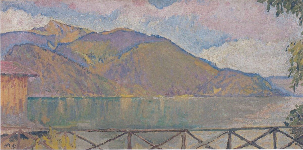The Abersee - Koloman Moser