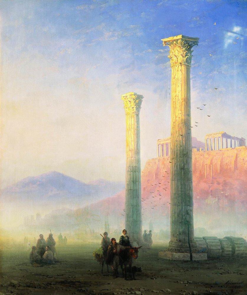 The Acropolis of Athens - Ivan Aivazovsky