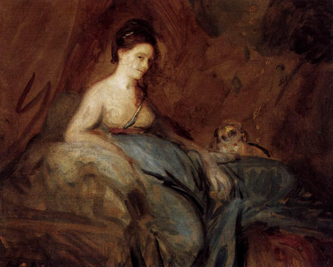 The Actress Kitty Fisher - Joshua Reynolds