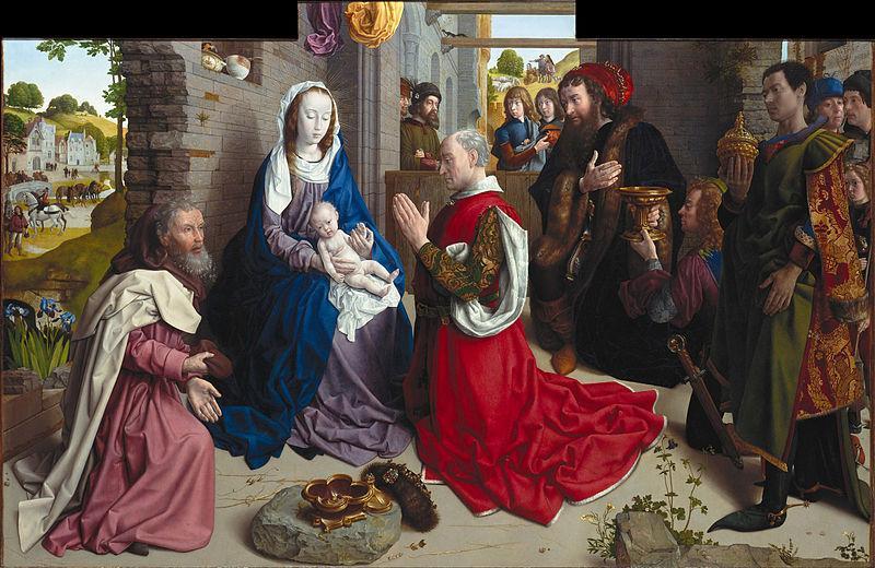 The Adoration of the Kings (Monforte Altar) - Hugo van der Goes