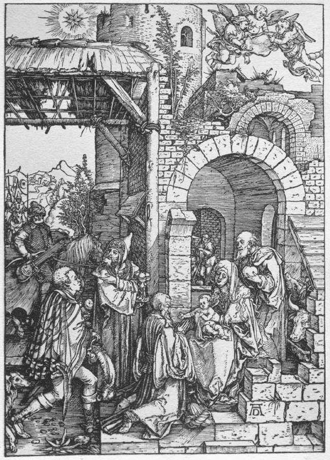 The Adoration of the Magi - Albrecht Durer