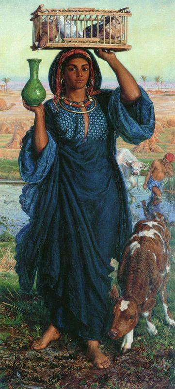 The Afterglow in Egypt, 19th century - William Holman Hunt