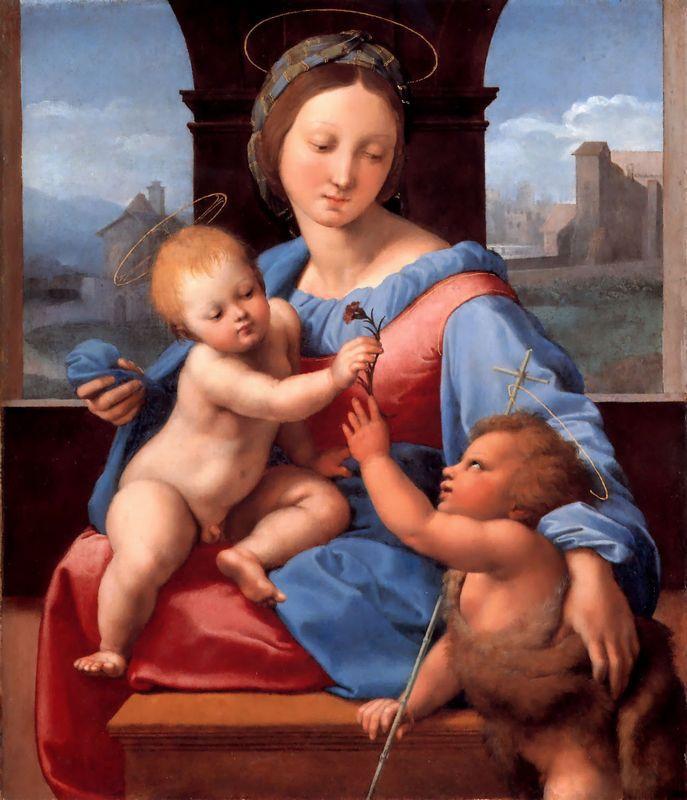 The Aldobrandini Madonna or The Garvagh Madonna   - Raphael
