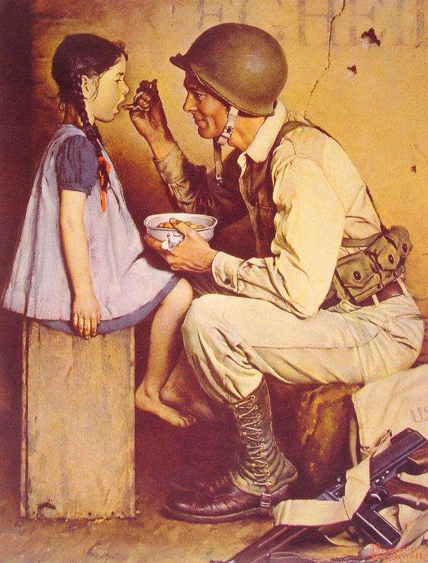 The American Way - Norman Rockwell