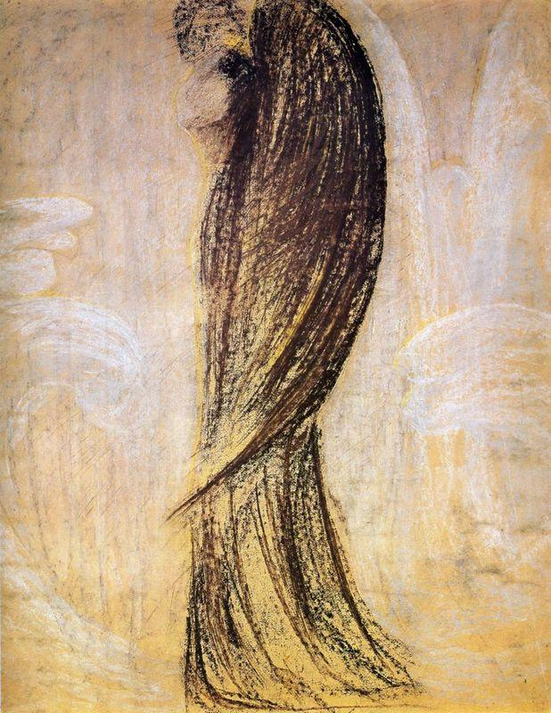 The angel - Mikalojus Ciurlionis