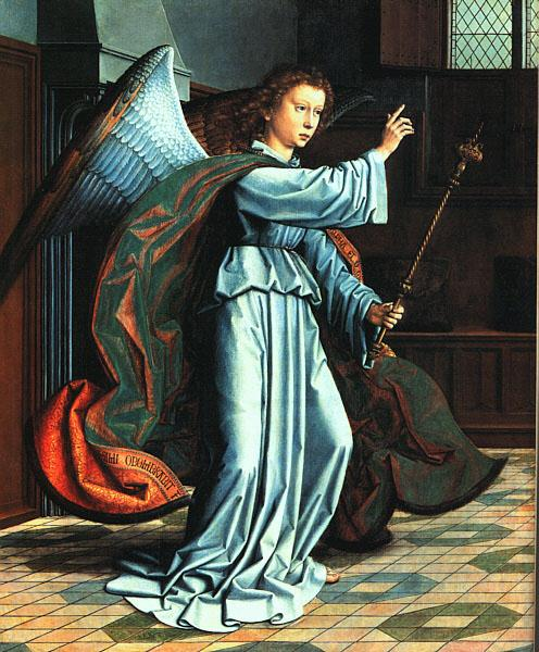 The Angel of the Annunciation - Gerard David