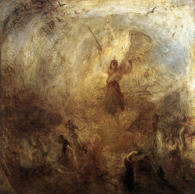 The Angel Standing in the Sun - William Turner