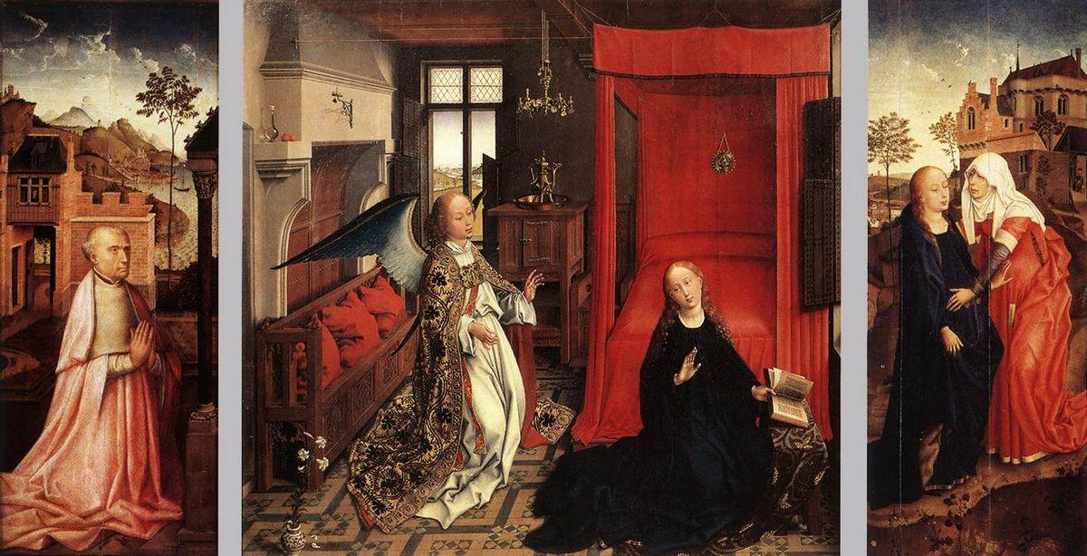 The Annunciation - Rogier van der Weyden