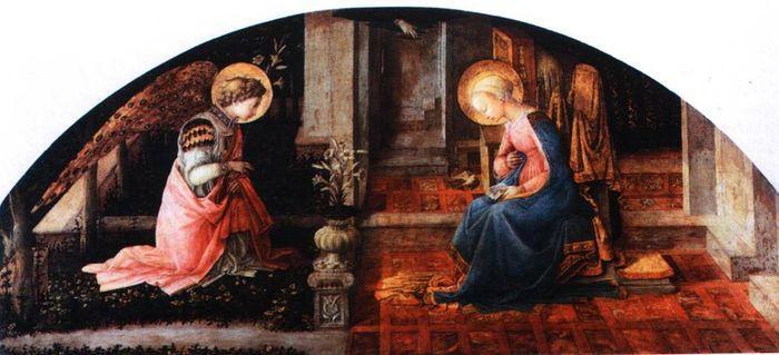 The Annunciation - Filippo Lippi