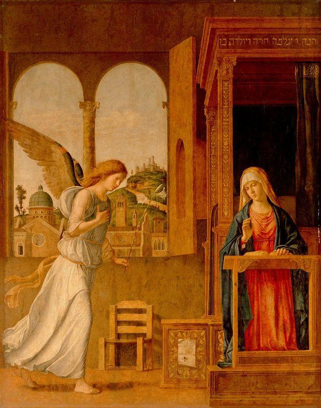 The Annunciation  - Cima da Conegliano