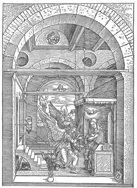 The Annunciation - Albrecht Durer