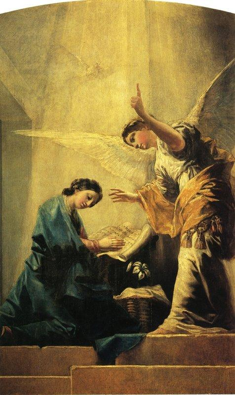 The Annunciation - Francisco Goya