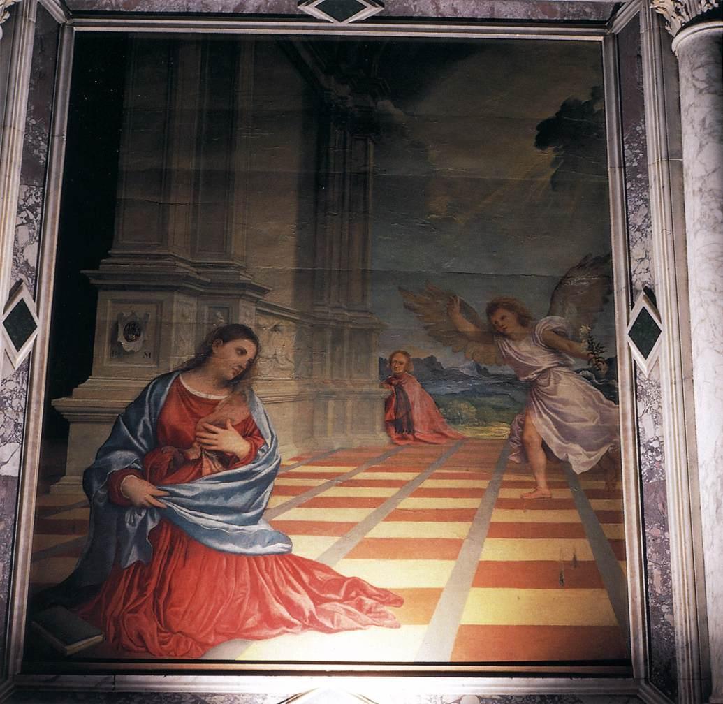 The Annunciation - Fernand Leger