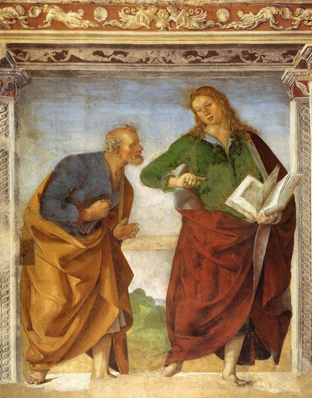 The Apostles Peter and John the Evangelist - Luca Signorelli
