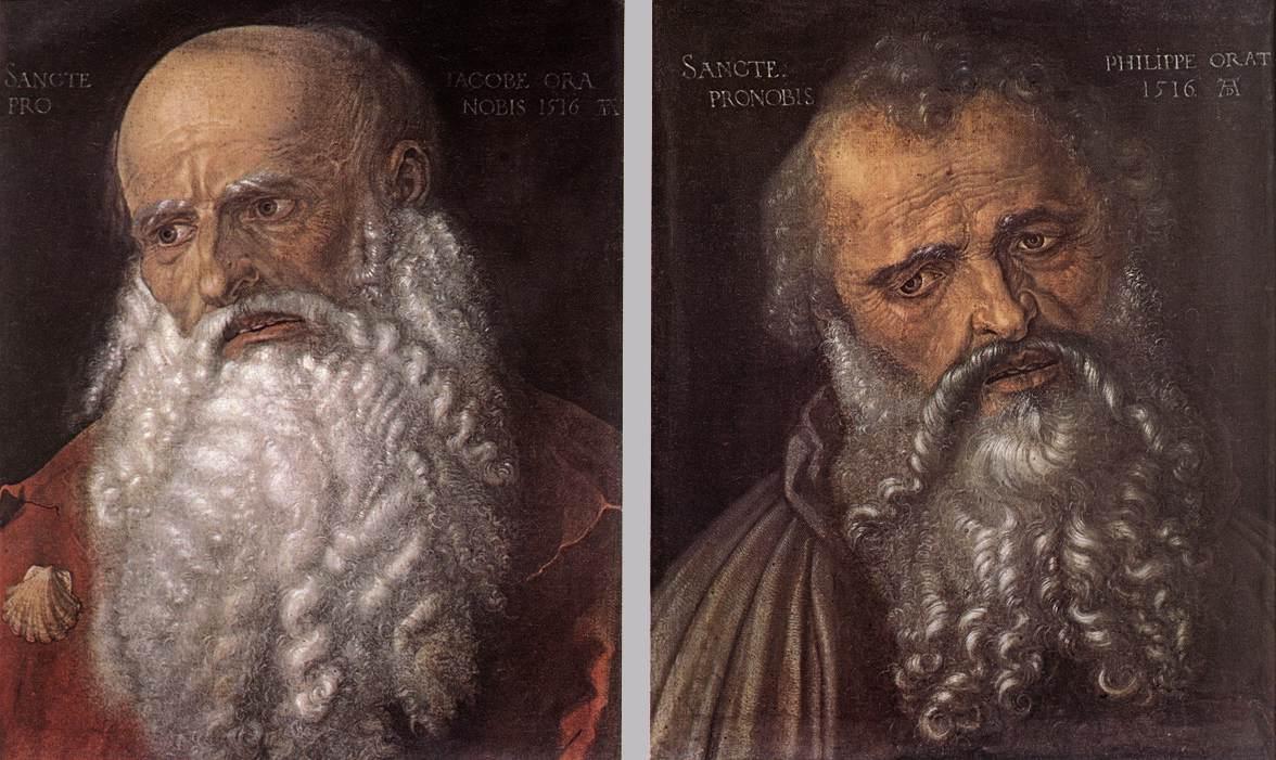 The Apostles Philip and James - Albrecht Durer