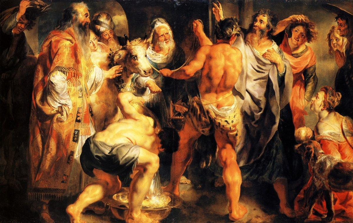 The Apostles, St. Paul and St. Barnabas at Lystra - Jacob Jordaens
