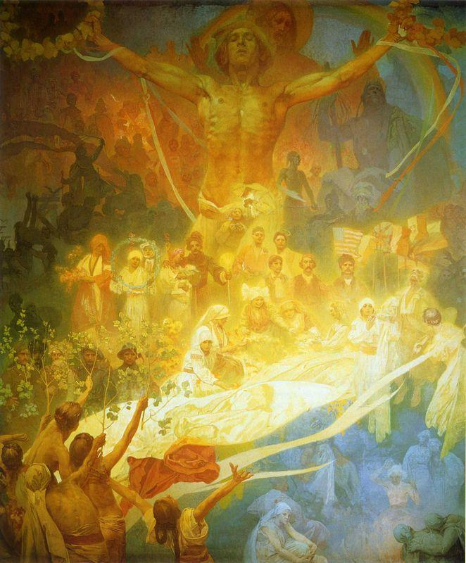 The Apotheosis of the Slavs - Alphonse Mucha